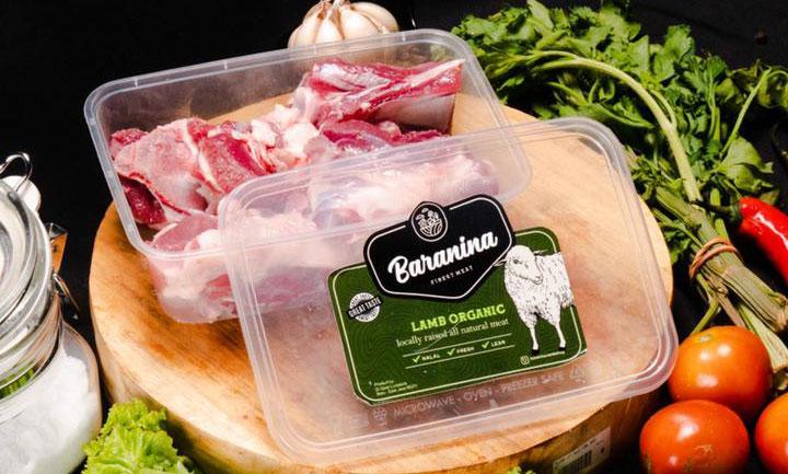 Jual daging domba organik retail dan grosir